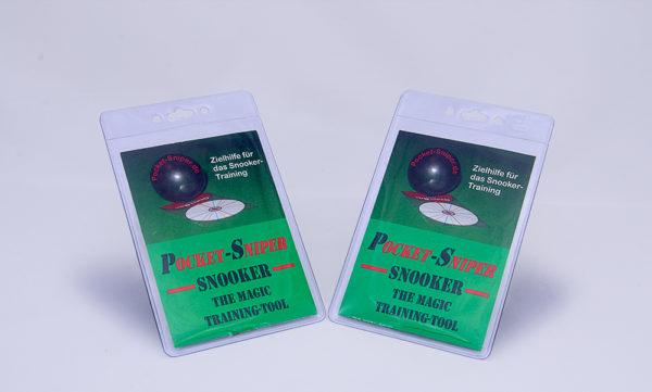 Double-Pack Pocket-Sniper Snooker Deutsch